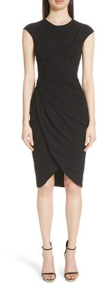 Michael Kors Ruched Tulip Dress