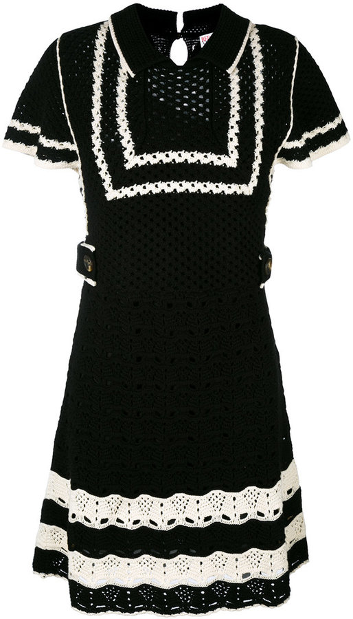 RED ValentinoRed Valentino shortsleeved knitted dress