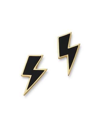 Lightning Bolt SUEL 14K Yellow Gold Earrings