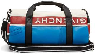 Mc3 Colour Block Leather Duffle Bag - Mens - Multi