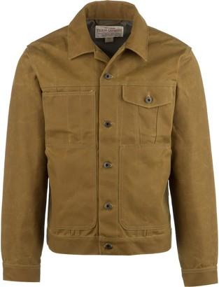 Filson Short Lined 15oz Oil Finish Tin Cloth Cruiser Jacket - Men's
