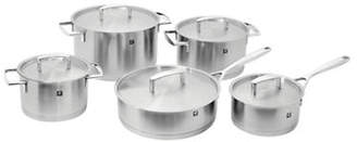 Zwilling J.A. Henckels Passion 10-Piece Stainless Steel Cookware Set - Induction Ready