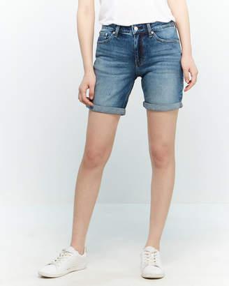 Calvin Klein Jeans Mid-Rise City Denim Shorts