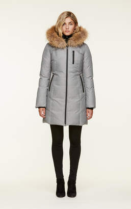 Soia & Kyo CHRISTY-R slim-fit, mid-length down coat