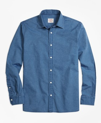 Brooks Brothers Chambray Sport Shirt