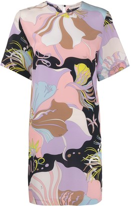 Emilio Pucci floral mini shift dress