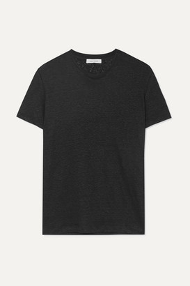 Ninety Percent Linen-jersey T-shirt - Black