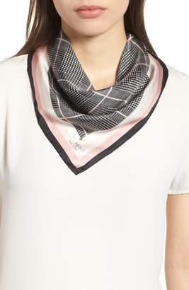Kate Spade Mod Plaid Silk Bandana