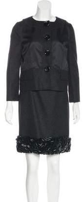 Proenza Schouler Embellished Mini Dress Set