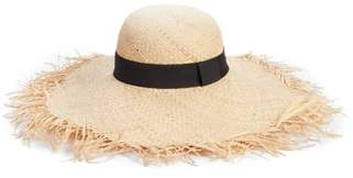 BP Raw Edge Floppy Straw Hat