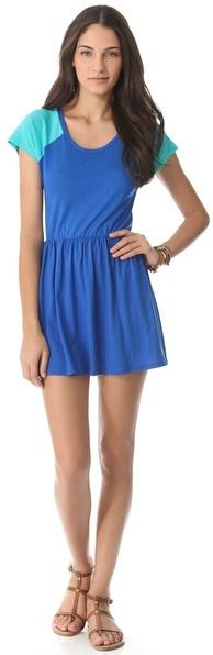 Blue Life Burger Dress