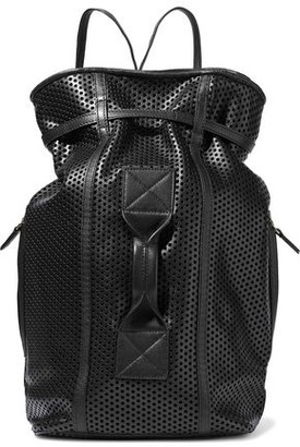 Jerome Dreyfuss Laser-Cut Leather Backpack
