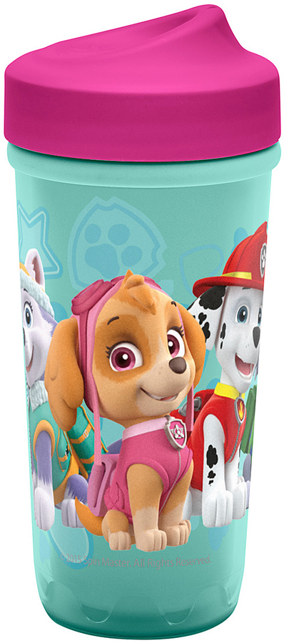 Pink & Green PAW Patrol 8.7-Oz. Perfect Flo Sippy Cup