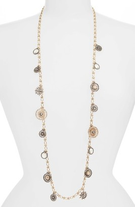 Women's Jenny Packham Light Up The Night Station Strand Necklace $115 thestylecure.com