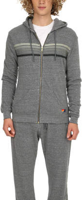 Aviator Nation 5 Stripe Zip Hoody