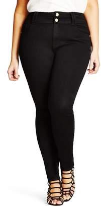 City Chic Asha Stretch Skinny Jeans