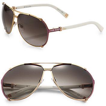Christian Dior Chicago Aviator Sunglasses