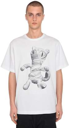 Juun.J Oversize Zafar Printed Jersey T-Shirt