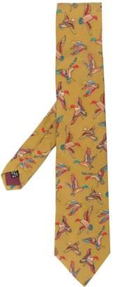 Salvatore Ferragamo Pre-Owned 1990's duck print tie