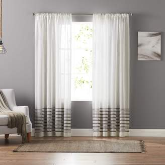 Sonoma Goods For Life SONOMA Goods for Life 1-Panel Stephanie Stripe Sheer Curtain