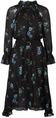 Claudie Pierlot Floral Midi Dress