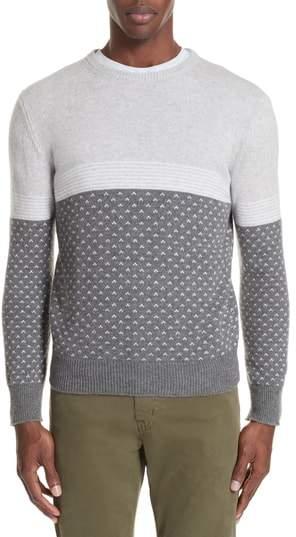 Eleventy Trim Fit Cashmere Sweater