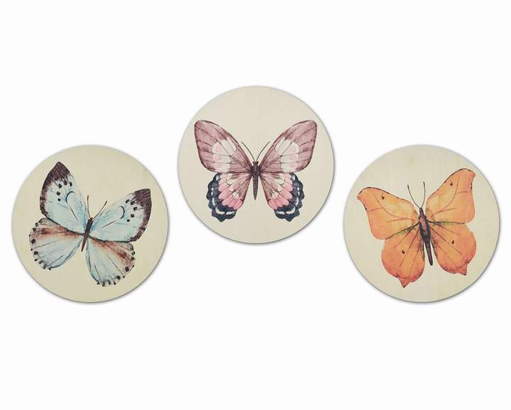 Butterfly Wall Decor Set of 3