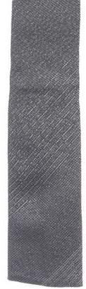 Givenchy Metallic Silk-Blend Tie