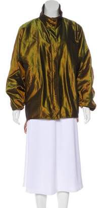 Chanel Iridescent Silk Jacket