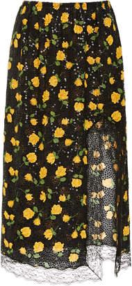 Michael Kors Sequin Slip Skirt