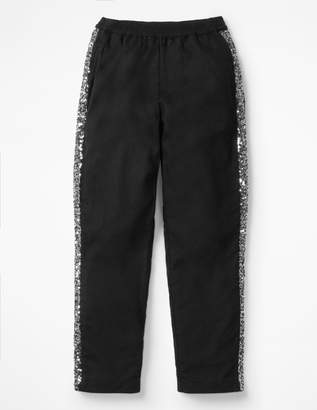 Boden Sparkle Detail Woven Trousers