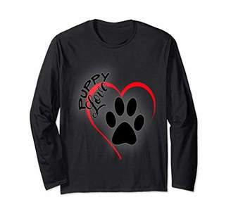Puppy Love Long Sleeve Tee For Gift