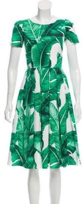 Dolce & Gabbana 2016 Banana Leaf Dress