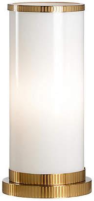 Parrish Hurricane Table Lamp - White - Wildwood
