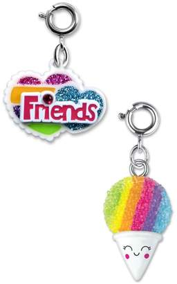 High Intencity CHARM IT!(R) 2-Pack Friends Heart & Snow Cone Charms