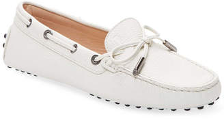 Tod's Leather Bow Drivers