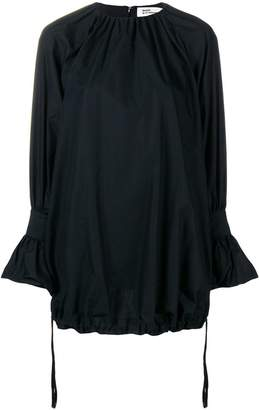Comme des Garcons gathered long length blouse