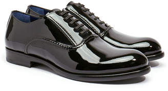 Harry's of London Ralph Patent Black Winter Injected Sole Oxford Shoe