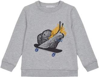 Stella McCartney Snail Skate Board Sweatshirt