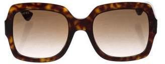 Gucci Tortoiseshell Gradient Sunglasses