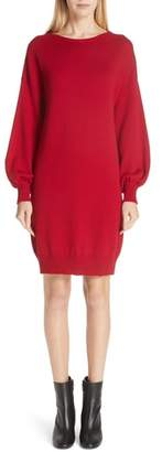 Fuzzi Wool Sweater Dress