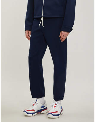 Prada Relaxed-fit stretch-jersey trousers