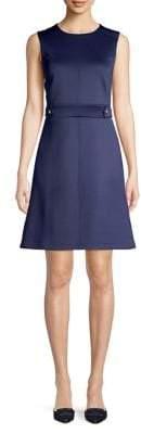 MICHAEL Michael Kors Sleeveless Scuba A-line Dress