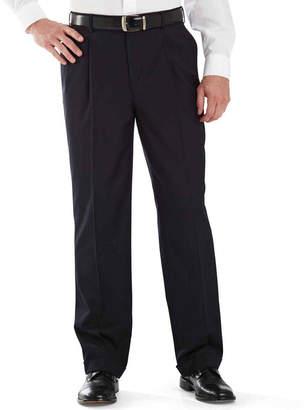 STAFFORD Stafford Year-Round Pleated Pants-Big & Tall
