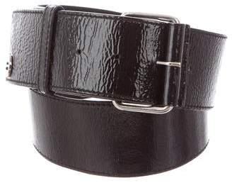 Tory Burch Patent Leather Waist Belt
