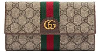 Gucci GG continental wallet with Three Little Pigs