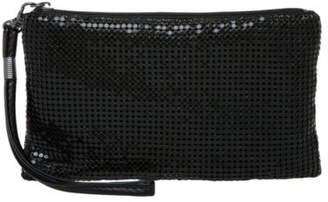 Olga Berg NEW Mesh Wristlet OB5050 Black