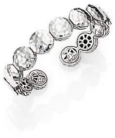 John Hardy Women's Palu Sterling Silver Disc Flex Cuff Bracelet