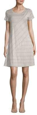 Spense Striped Shift Dress