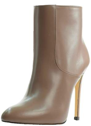 Luis Onofre Nude Leather Bootie